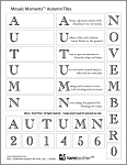 FREE DOWNLOAD for Mosaic Moments Grid - Autumn