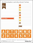 FREE DOWNLOAD for Mosaic Moments Grid - Fall Fun Journal Blocks
