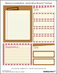 FREE DOWNLOAD for Mosaic Moments Grid - Memories Journal Blocks
