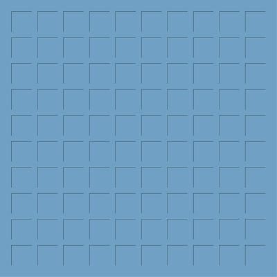 12X12 CORNFLOWER BLUE GRID PAPER - 6 Sheets