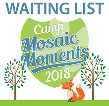 CAMP WAITING LIST - Sept 2018