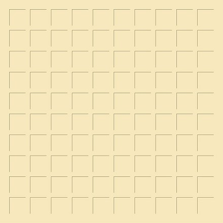 12X12 FRESH CREAM GRID PAPER - 6 Sheets