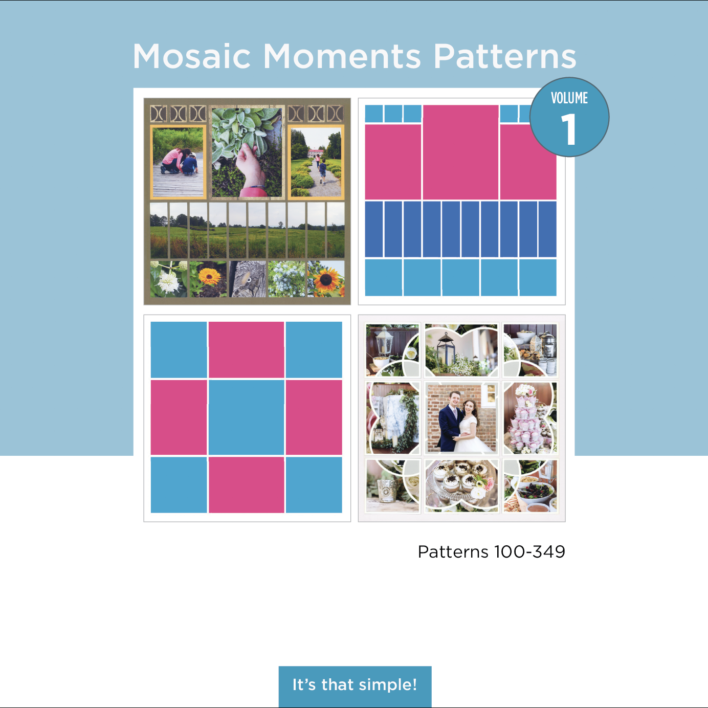 MOSAIC MOMENTS PATTERNS BOOK VOLUME 1
