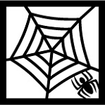SPIDERWEB CORNERSTONE BLACK