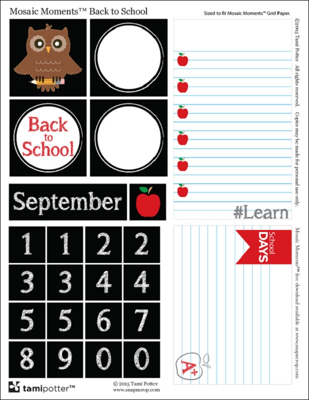 FREE DOWNLOAD Back to School