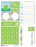 FREE DOWNLOAD SIGNS OF SPRING BLOCKS