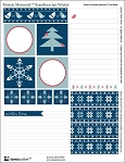 Mosaic Moments Scandinavian Winter Free Printable