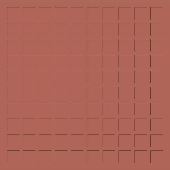 12X12 CAYENNE PEPPER GRID PAPER - 6 Sheets