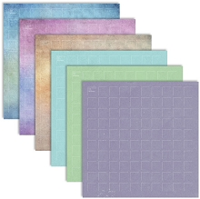 12X12-12 Fresh N Fruity (Pack of 12 sheets - 2 each of 6 colors)