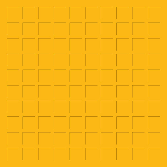12X12 GOLD GRID PAPER - 6 Sheets