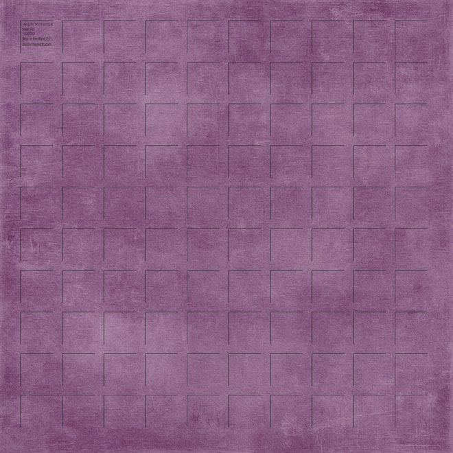 12X12 Grape Fizz GRID PAPER - 6 Sheets