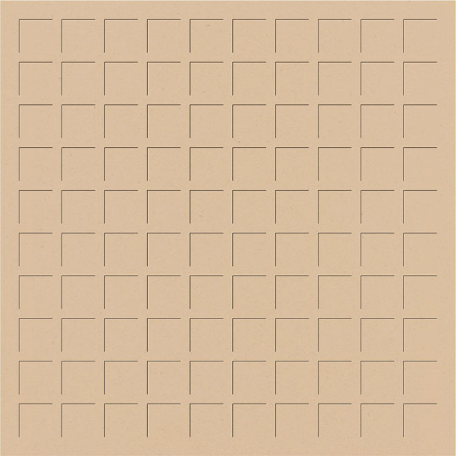 12X12 FRESH MALT GRID PAPER - 6 Sheets