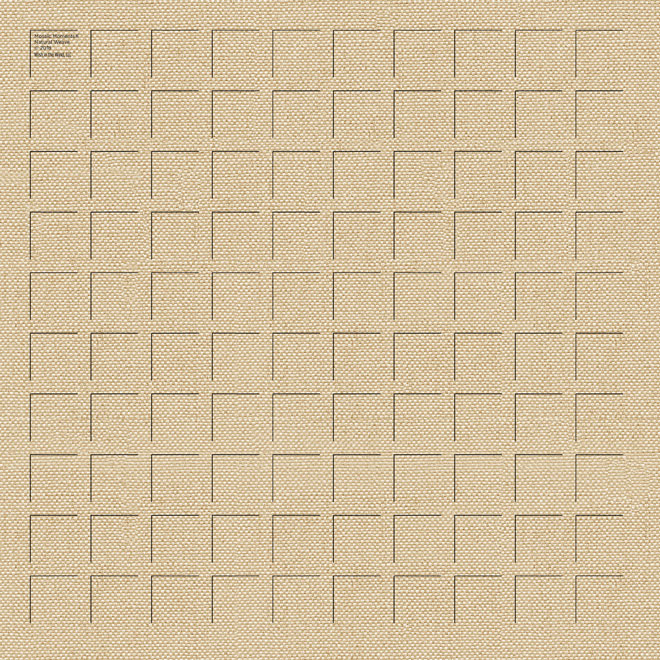12X12 Natural Weave GRID PAPER - 6 Sheets