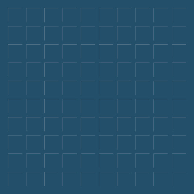 12X12 NAVY GRID PAPER - 6 Sheets