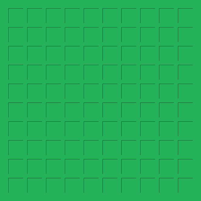 12X12 GREEN GRID PAPER - 6 Sheets