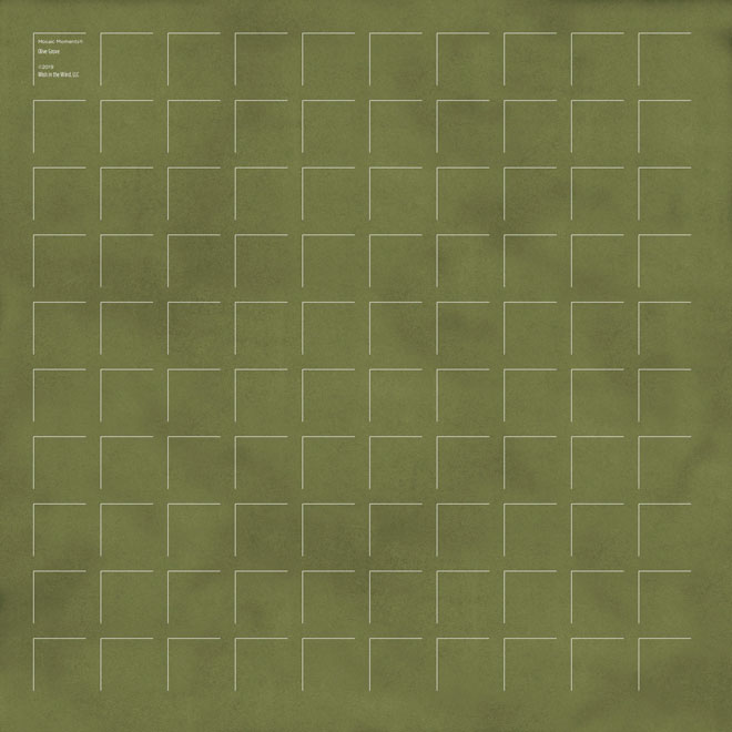 12X12 Olive Grove GRID PAPER - 6 Sheets
