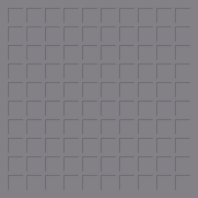 12X12 PEWTER GRID PAPER - 6 sheets