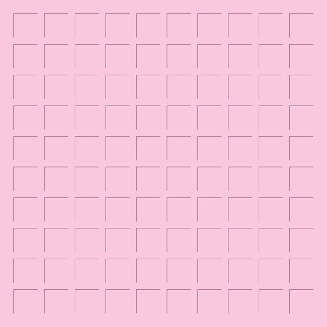 12X12 PINK GRID PAPER - 6 Sheets