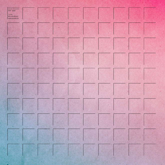 12X12 Twilight GRID PAPER - 6 Sheets