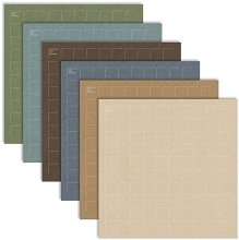 12X12-12 Yukon Territory (Pack of 12 sheets - 2 each of 6 colors)
