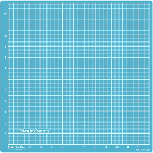 DOUBLE SIDED SELF-HEALING 14X14 CUTTING MAT BY MOSAIC MOMENTS®