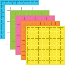 12X12-Beach Ball (Pack of 12 sheets - 2 each of 6 colors)