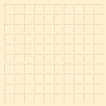 12X12 IVORY GRID PAPER - 6 Sheets