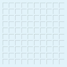 12X12 PALE BLUE  GRID PAPER - 6 Sheets