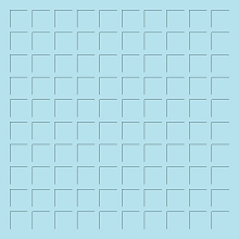 12X12 SKY BLUE  GRID PAPER - 6 Sheets