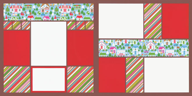 Christmas Town Page Kit featuring Doodlebug Design™