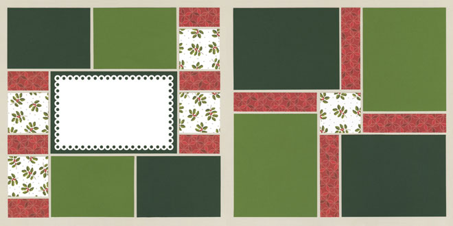 Together for Christmas Page Kit featuring Pink Paislee™