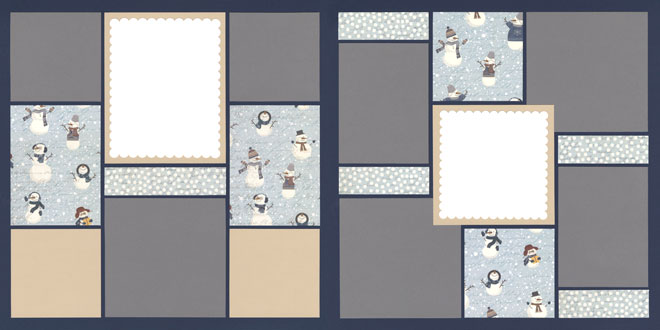 Snowball Page Kit featuring PhotoPlay