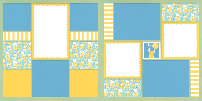 Lemonade Stand 2 Page Kit featuring Doodlebug™
