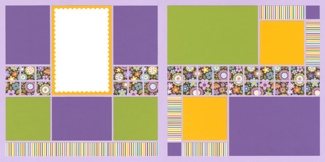 Flower Power Page Kit featuring Bella Blvd™