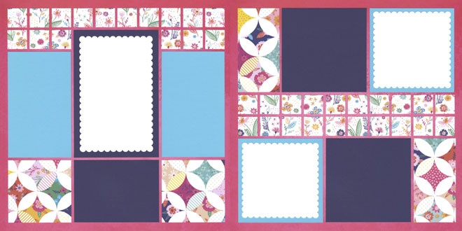Quilters Circle Page Kit featuring Page Evans™