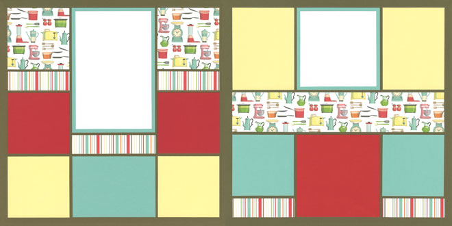 My Kitchen Page Kit featuring Carta Bella™