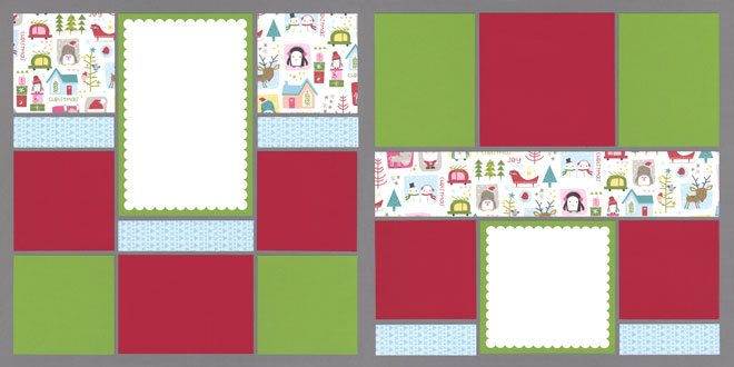 Christmas Capers Page Kit featuring Bella Blvd™