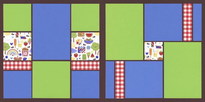 Picnic 2 Page Kit featuring Doodlebug™
