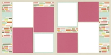 Color Blocking Page Kit featuring Simple Stories™
