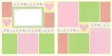Sweet Train - Pink Page Kit featuring Doodlebug™
