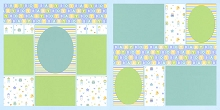 Baby Boy Page Kit featuring Doodlebug™