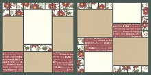 Crimson Blossoms Page Kit featuring Simple Stories™