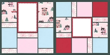 Holiday Mood Page Kit featuring Crate Paper™