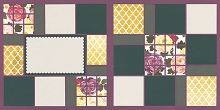 Floral Medley Page Kit featuring American Crafts™