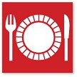 Place Setting - Red