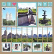 """I Love NY"" with the Stamp Dies"