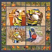 """Picking Pumpkins 2"" using the Whimsy 4x4"