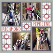 """Richmond Pipeline"" with Craftsman 2x4 and Craftsman 2x2 (sold separately)"