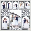 A Great Choice for Wedding Scrapbook Layouts