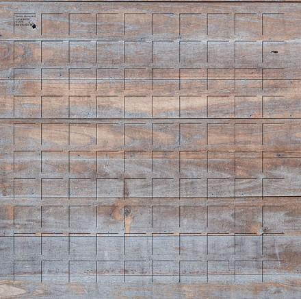 Cabin Wood Grid Paper